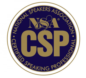 Certified Speaking Professional - Kent Julian - CSP