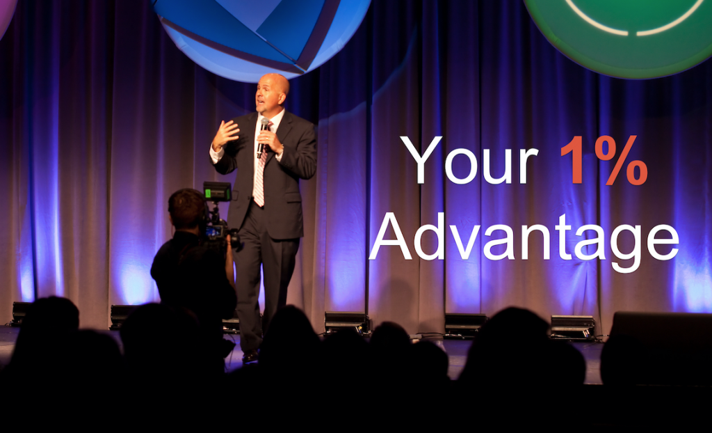 Kent Julian - Employee Engagement Speaker - Your 1% Advantage Keynote Program